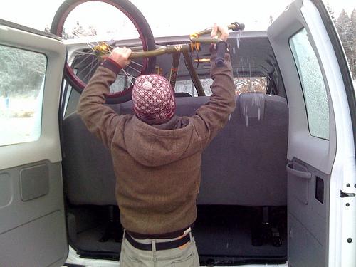 model-c in van