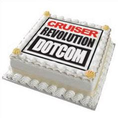 cruiser revolution.com cake