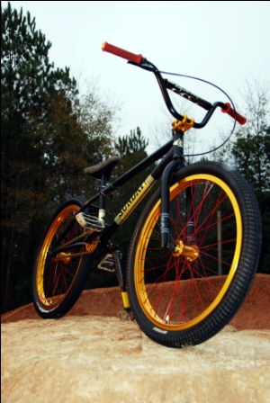 Robert's tricked out Model-C with gold Hazard Lites is a real beauty.