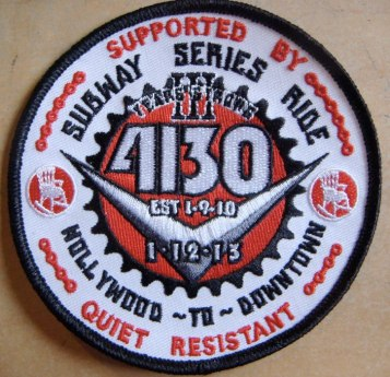 4130 3-year anniversary patch