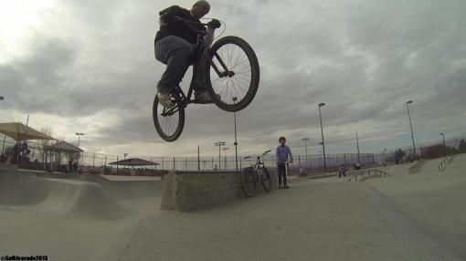 Mike Leonard bustin on the Big Table at Anthem!