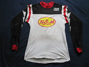 S&M jersey with lightening bolts
