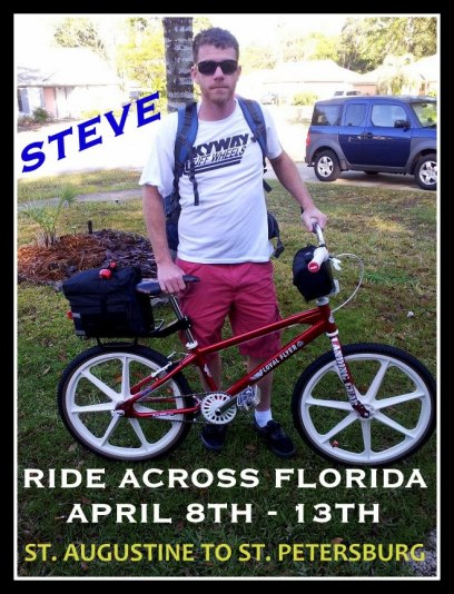 Steve Ride Across Florida