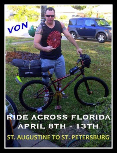 Von Ride Across Florida