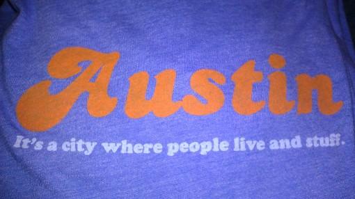 Austin tee