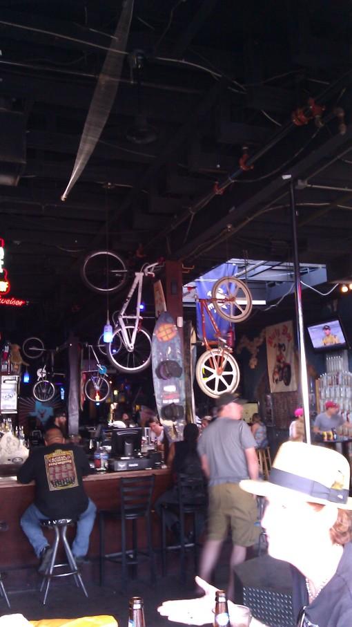 Cruisers in the bar