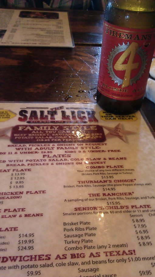 Salt Lick and Firemans 4
