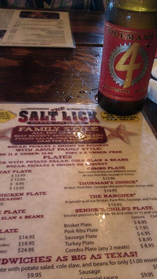 Salt Lick and Firemans 4