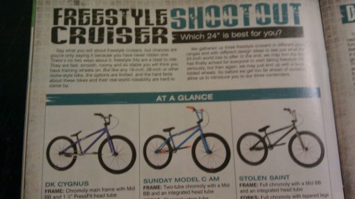 BMX Plus Freestyle Cruiser Shootout
