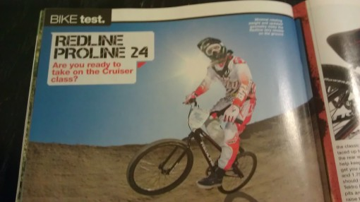 BMX Plus Redline Proline Test