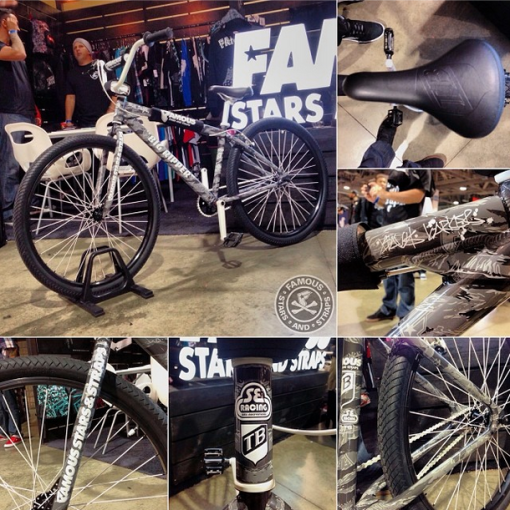 SE Bikes X FAMOUS STARS AND STRAPS X Travis Barker