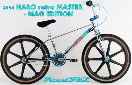 Haro retro 24in Master mag wheels