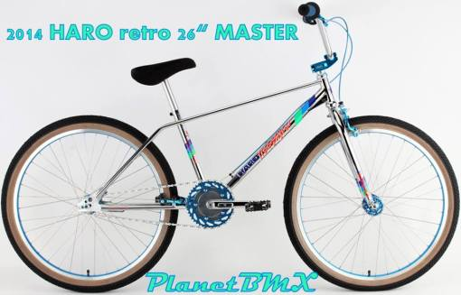 Haro retro 26in Master spoked wheels