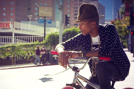 pharrell williams discusses bmx culture