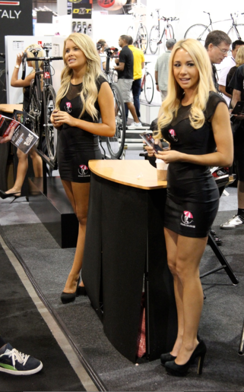 Interbike booth