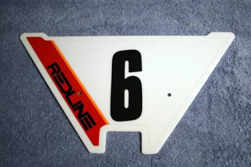 6 number plate