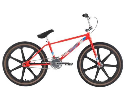 Haro 2015 Vintage Series FST 24 Inch Mag Bike Red