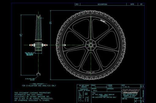 26inch Skyway Tuff Wheel Proto