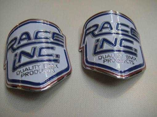race inc head tube badge