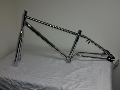 Chrome Morales Cruiser Frame and Fork